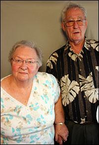 Frank Newby and Gayle Burton