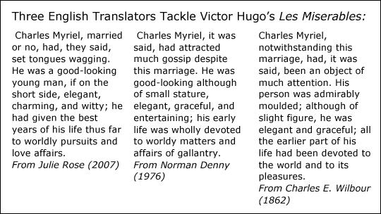 Les Misérables: Julie Rose's Victor Hugo | BLT