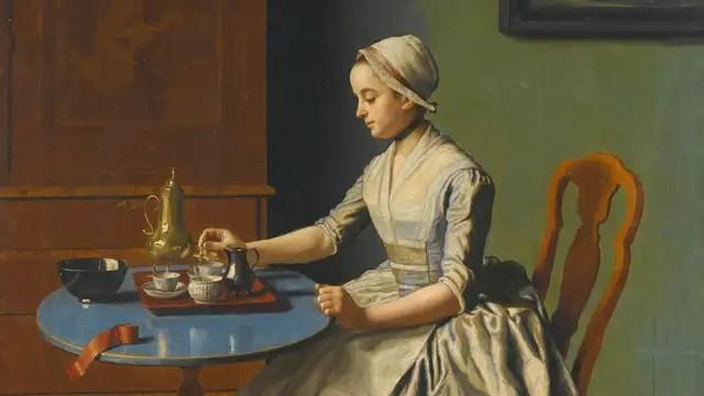 Afbeeldingsresultaat voor Het meisje aan het ontbijt
