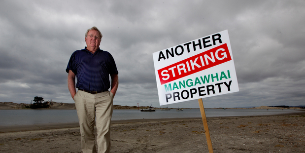 Mangawhai Ratepayers and Residents Association chairman Bruce Rogan is leading the rates revolt. Picture / Steven McNicholl