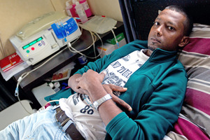 Fijian kidney patient Sanil Kumar. Photo / Richard Robinson