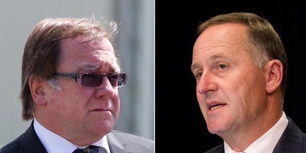Murray McCully, left, and John Key.