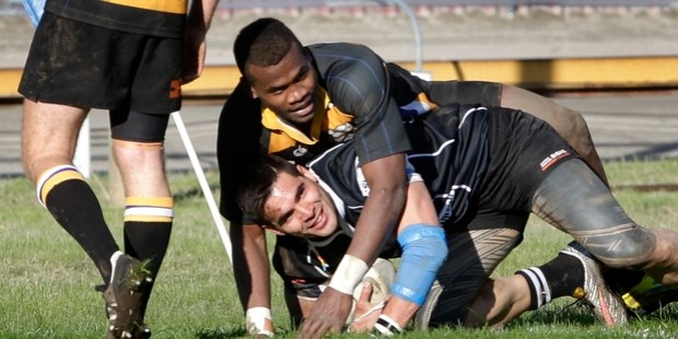 DEVASTATING FINISHERS: Between them, Border's Poasa Waqanibau and Pirates' Clive Stowers have scored 29 tries this season.PHOTO/FILE