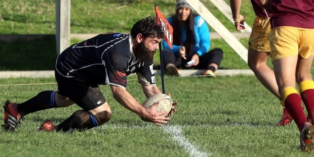 BACK IN BLUE: After a nine-year absence, Pirates front rower Brett Turner earned his spot in the Wanganui team for their pre-season game against King Country tomorrow. PHOTO/FILE A-040615WCSMRUGBY3