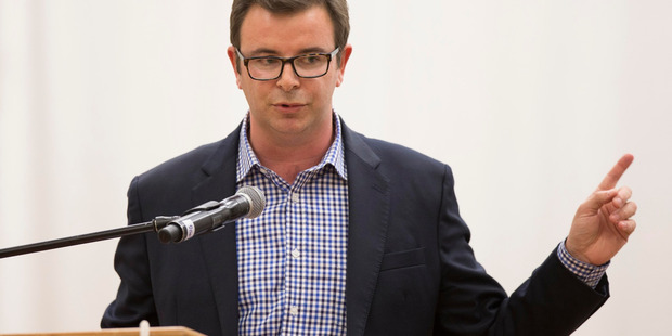 Councillor Cameron Brewer challenged the clause. Photo / Brett Phibbs, NZ Herald