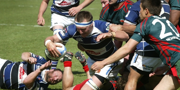 REINFORCEMENT: Nearly three years after last playing for Wanganui, lock Jon Smyth returns to the team for tomorrow's game with Mid Canterbury.PHOTO/FILE A-201012WCBRCRU27