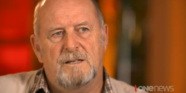 Retired French colonel Jean-Luc Kister. Picture / TVNZ