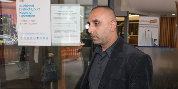 Celebrity stylist Mobeen Bhikoo, 40, pleaded not guilty in October to 17 class-A drug charges including possession of cocaine and methamphetamine for supply. Photo / Greg Bowker