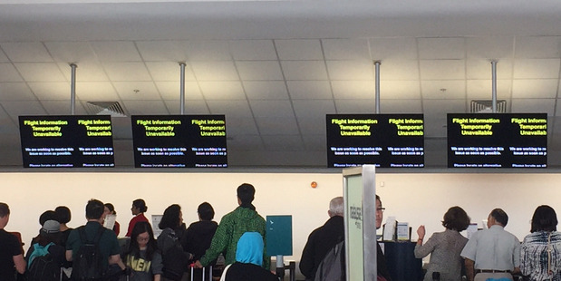 Travellers at Auckland Airport are suffering the bitter consequences of years of limited investment infrastructure.