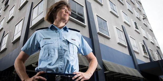 Auckland City Police District Commander Superintendent Karyn Malthus. New Zealand Herald photo by Jason Oxenham.