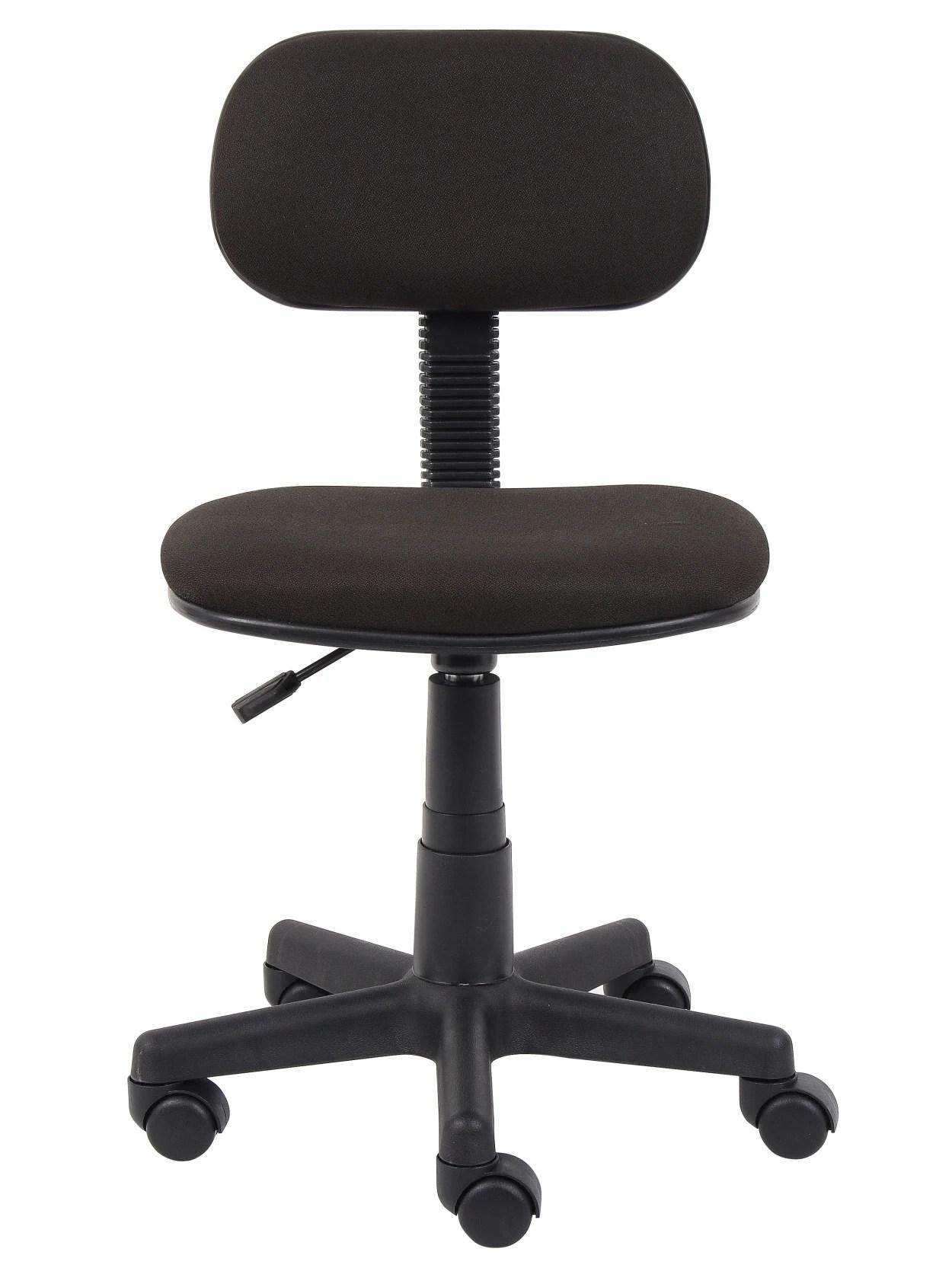 Boss Steno Low Back Task Chair Black Office Depot