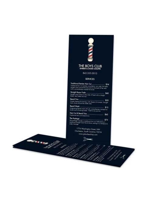 custom full color rack cards print 1 side 3 1 2 x 8 1 2 box of 50 item 984460