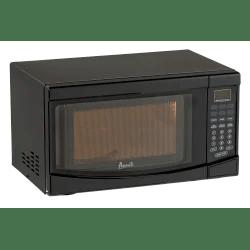 avanti 0 7 cu ft countertop microwave black item 291733