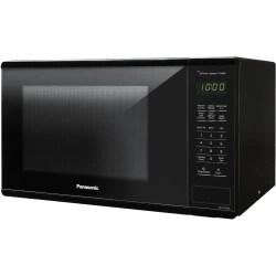 panasonic 1 3 cu ft 1100w countertop microwave oven black nn su656b single 9 72 gal capacity microwave 3 power levels 1100 w microwave