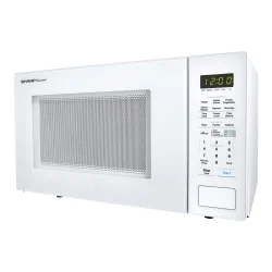 sharp carousel 1 4 cu ft microwave oven white item 9174567