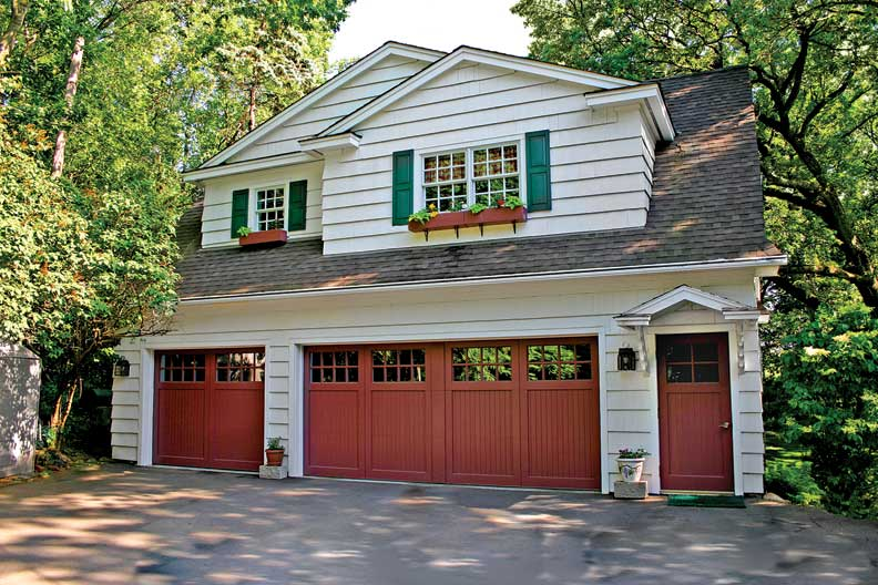 How to Choose a Garage Door - Old-House Online - Old-House ... on Garage Door Color  id=59645