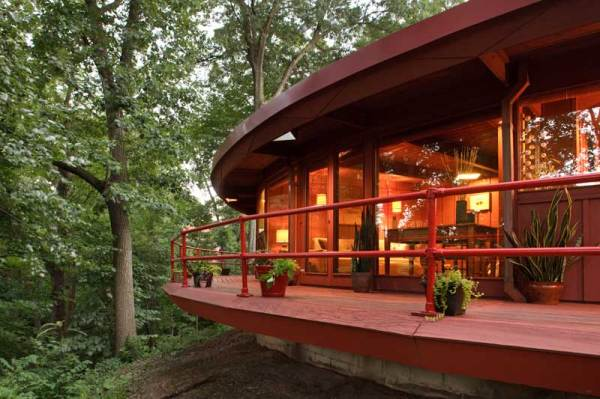 A Modern House Inspired by Frank Lloyd Wright OldHouse