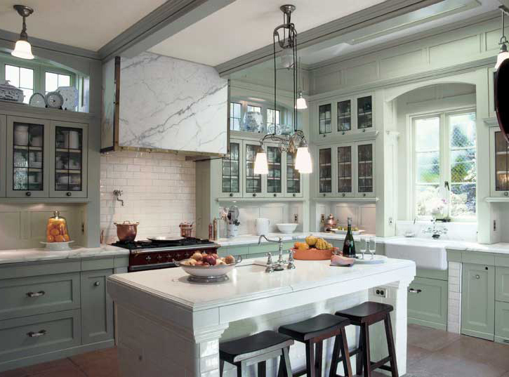 Classic Farmhouse Kitchen