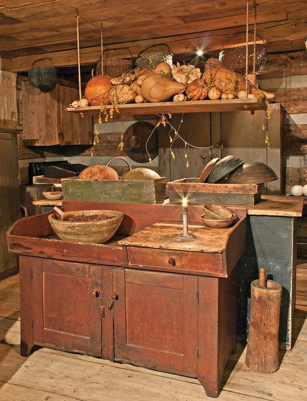 Antique Country Kitchen Decor