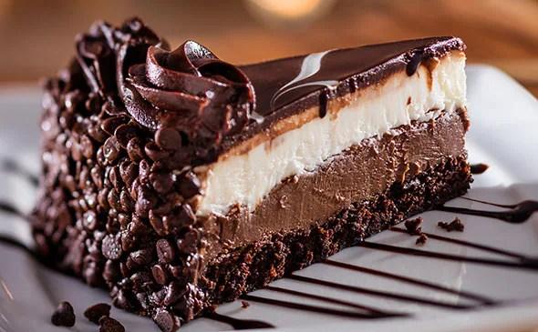 Tuxedo Chocolate Mousse Cake