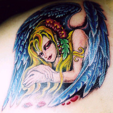 Guardian Angel Tattoo Designs. Mon, 05/25/2009 - 2:38AM by vika03 0 Comments