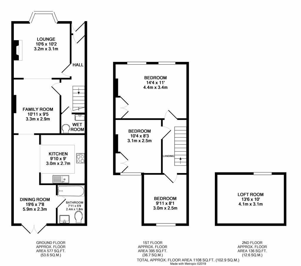 Littlehampton 3 Bed Terraced House For Sale