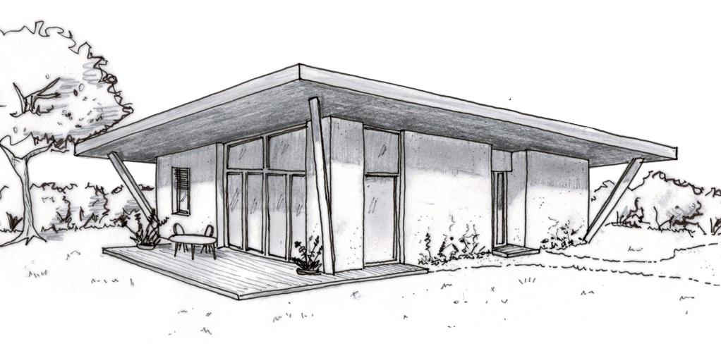 Dessin De Maison Moderne En Perspective Novocom Top