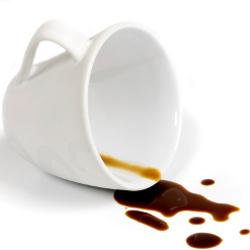 enlever une tache de cafe nettoyer