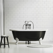 renover une baignoire en fonte