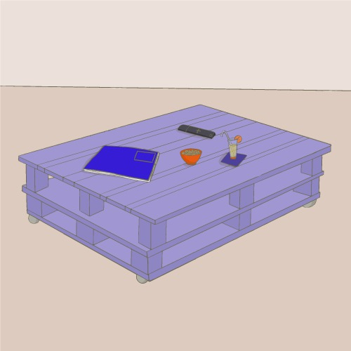 comment fabriquer une table basse en