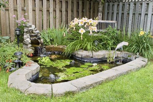 bache epdm pour bassin de jardin