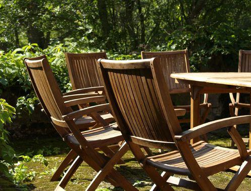 chaise de jardin en bois fabrication