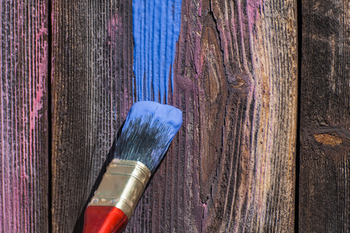 peinture pour bois sans poncer types