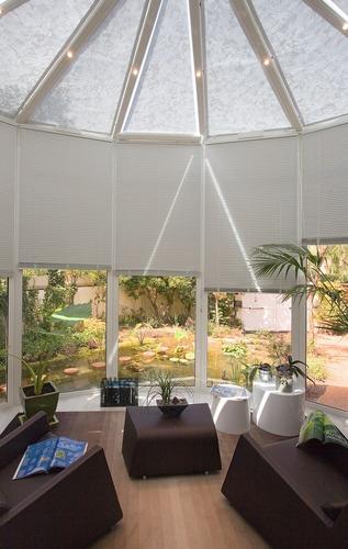 veranda store et rideau de veranda
