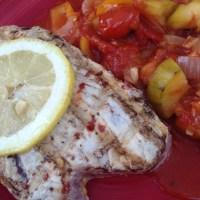 Grillad Tonfisk med Ratatoulle