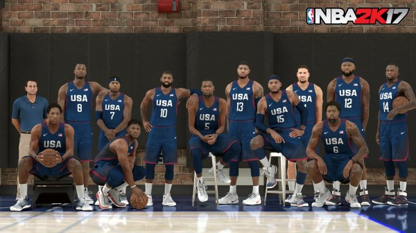 NBA 2K17 Screenshot - 2016 USA Basketball Men's National ...