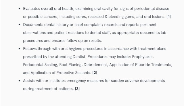 Top Dental Resume Samples & Pro Writing Tips - Oral Health Group