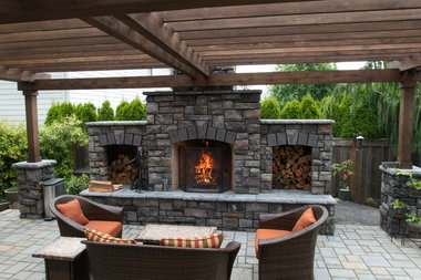 Backyard kitchens grow in popularity and sophistication ... on Garden Entertainment Area Ideas id=17370