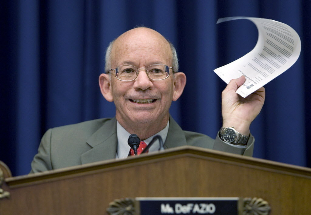Image result for photos of rep peter defazio
