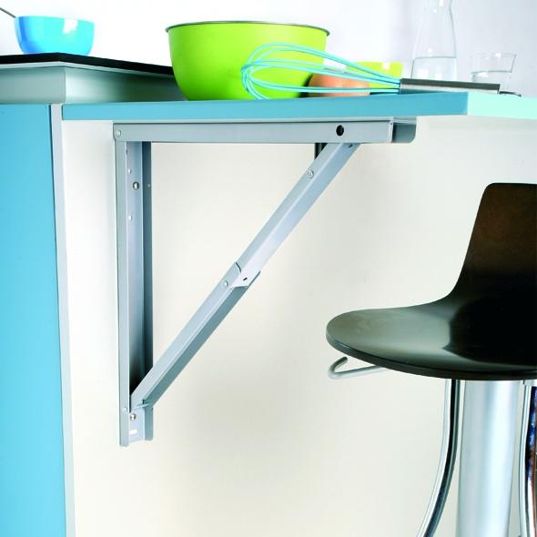 support de table rabattable aluminium sokleo