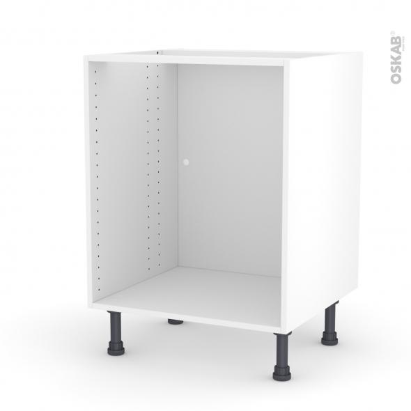 caisson bas n 7 meuble de cuisine l60 x h70 x p56 cm sokleo
