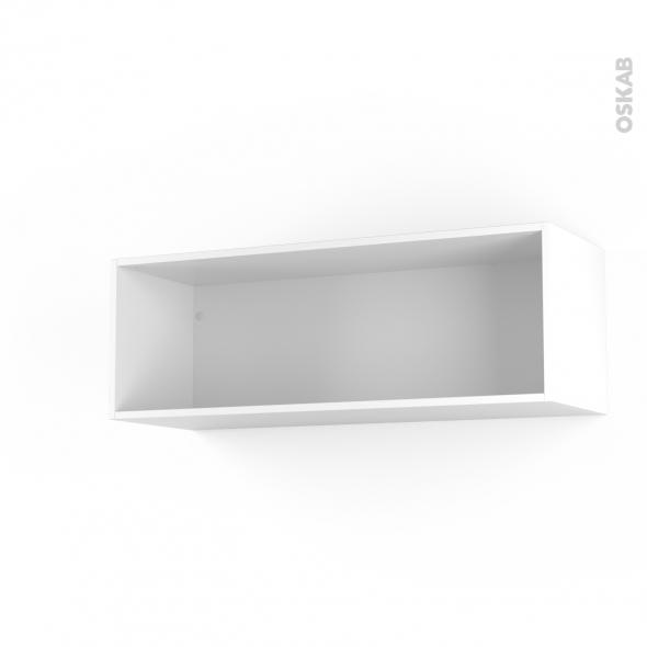 caisson haut n 13 meuble de cuisine l100 x h35 x p35 cm sokleo