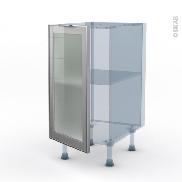 sokleo facade alu vitree kit renovation 18 meuble bas cuisine 1 porte l40xh70xp60