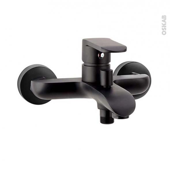 robinet de baignoire noir mat index