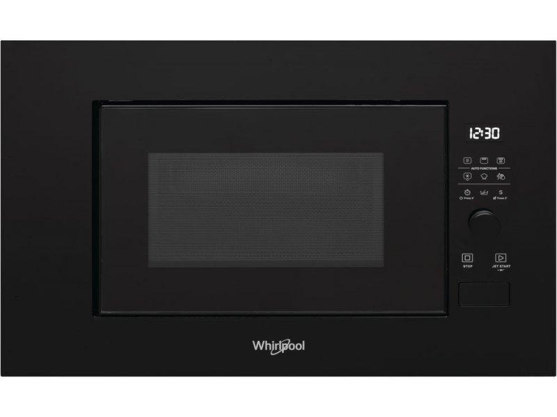 whirlpool built in microwave wmf200g nb 20l black
