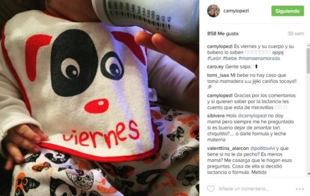 Instagram Camila López