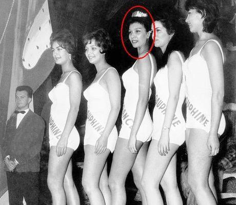 Победительница конкурса красоты 1957 год