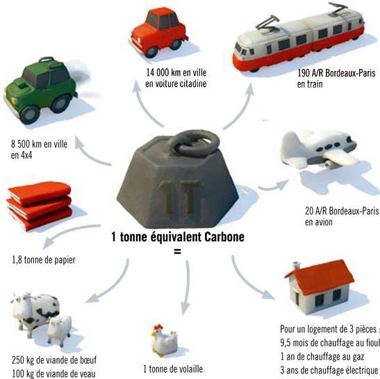 tonne carbone