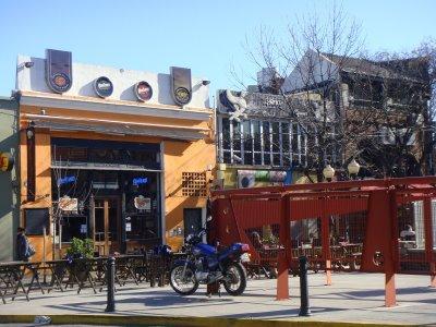 Voyager en Argentine, cartes postales de Palermo, Buenos Aires