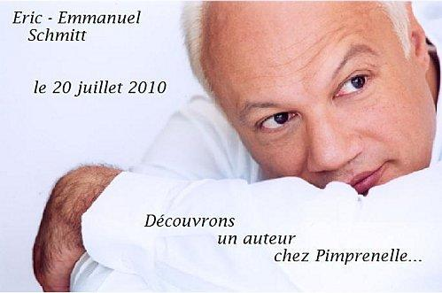 Decouvrez Eric-Emmanuel Schmitt chez Pimprenelle